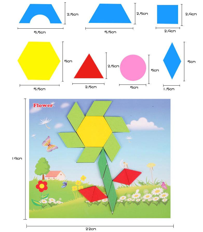 tangram puzzel